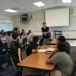 Public Speaking & Goals Setting Talk With 7 & 8 Graders