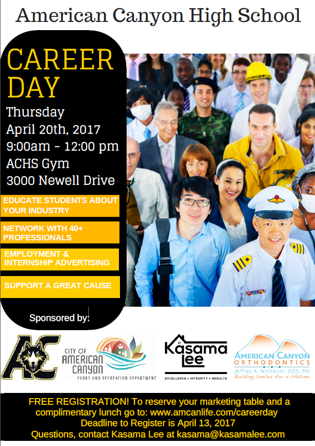 American Canyon High School Career Day
