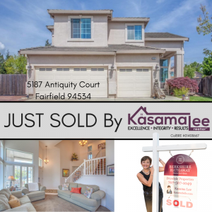 JUST SOLD! 5187 Antiquity Court, Fairfield 94534