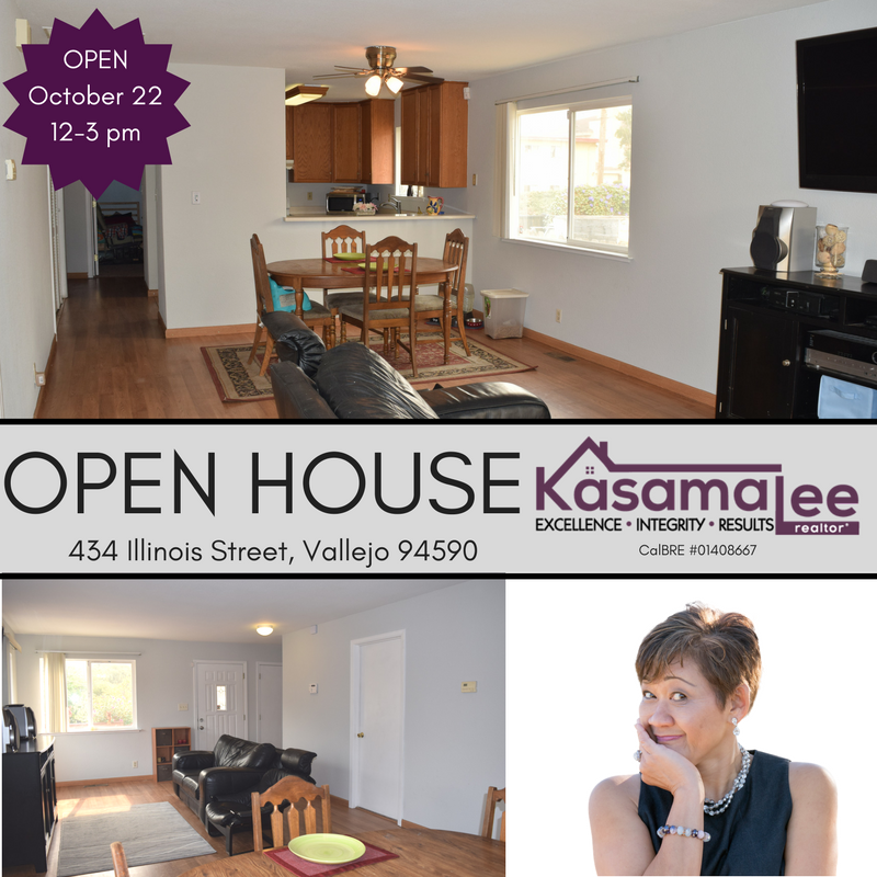 OPEN HOUSE- 434 Illinois Street, Vallejo 94590