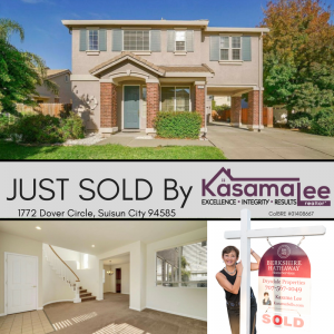 JUST SOLD- 1772 Dover Circle, Suisun City 94585
