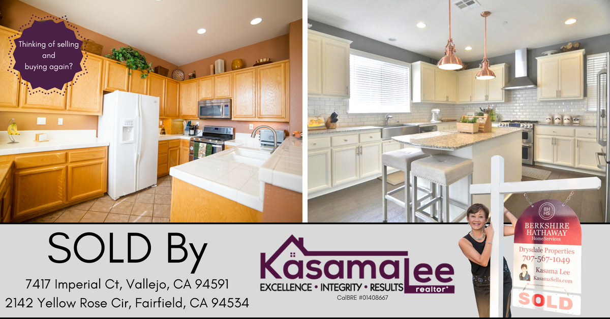 JUST SOLD in Vallejo and Fairfield!