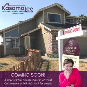 COMING SOON-93 Crawford Way, American Canyon, CA 94503