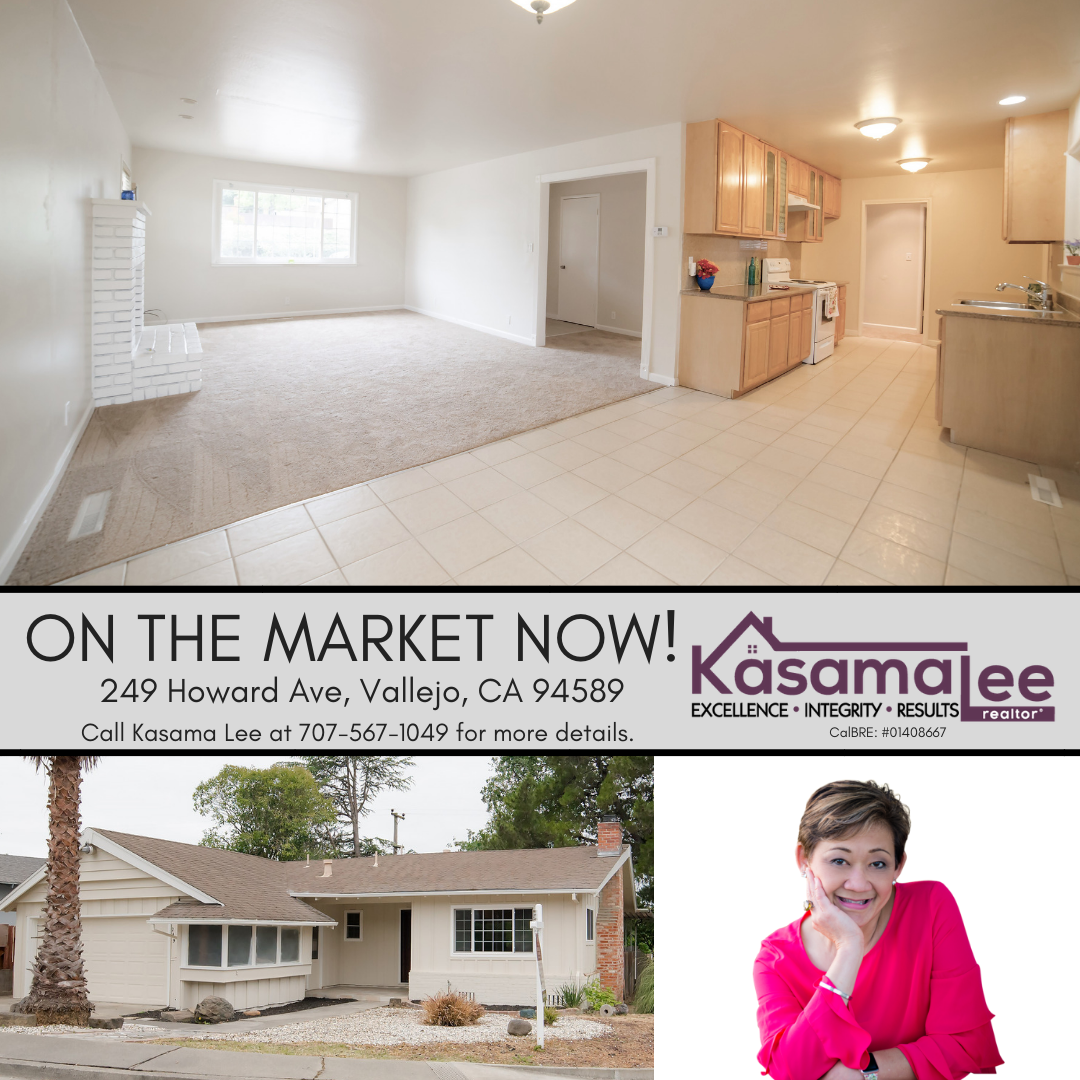 249 Howard Ave, Vallejo has a NEW PRICE!