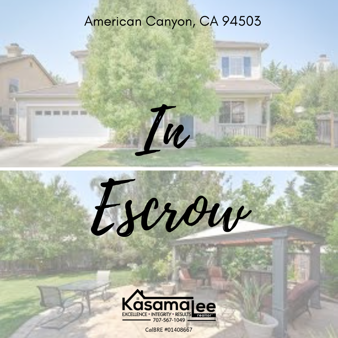 My clients are IN ESCROW!!