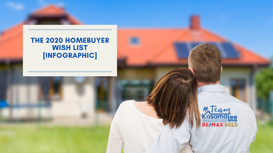 The 2020 Homebuyer Wish List [INFOGRAPHIC]