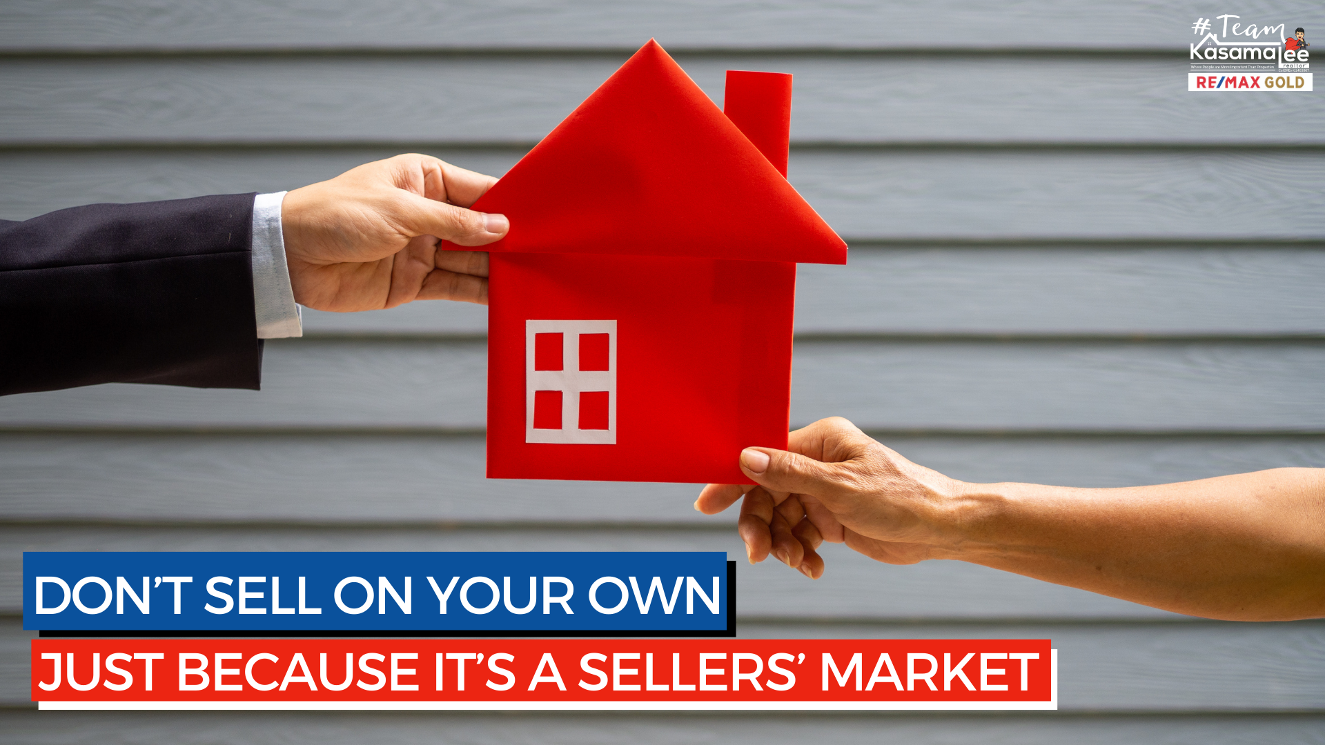 Don't Sell on Your Own Just Because It's a Sellers' Market